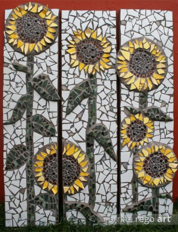 Sunflower panels